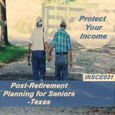 Texas - Post-Retirement Planning for Seniors (INSCE031)
