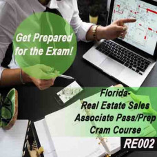 Florida:  Real Estate Sales Associate Pass/Prep - Cram Course (RE002)